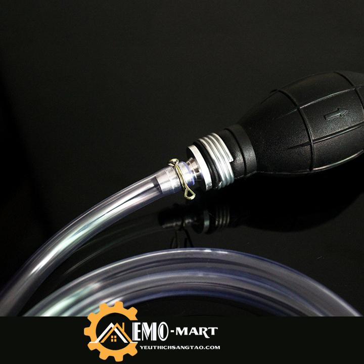Đầu nối của dụng cụ bơm hút xăng dầu bóp tay