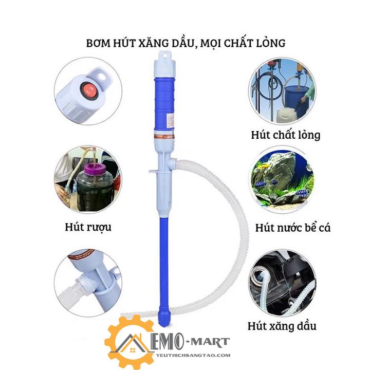 Dụng cụ sáng tạo thông minh bơm hút tự động mọi chất lỏng, xăng dầu dễ dàng