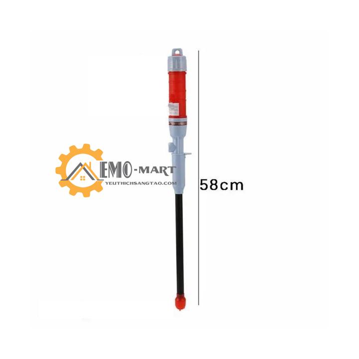 Độ dài dụng cụng 58cm dễ dàng cất gọn hoặc gác treo