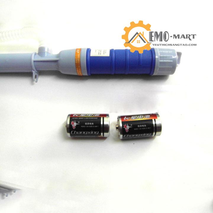 Bơm hút tự động sử dụng pin dùng được lâu dài