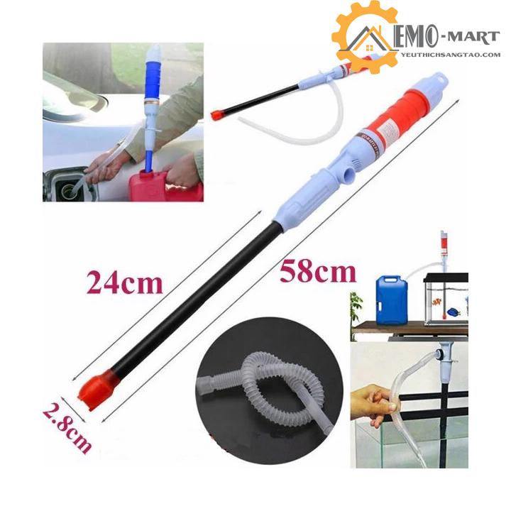 Cấu tạo dụng cụ bơm hút chất lỏng vừa phải phù hợp với các thiết bị sử dụng