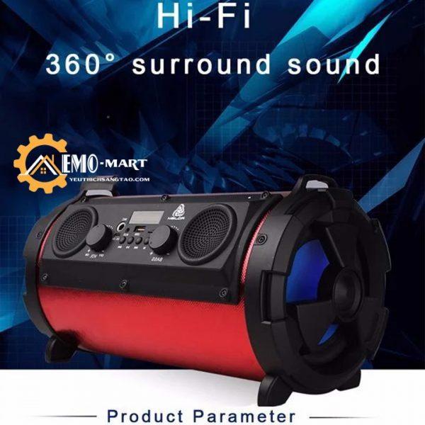 Loa bluetooth công nghệ siêu trầm HBPC1602